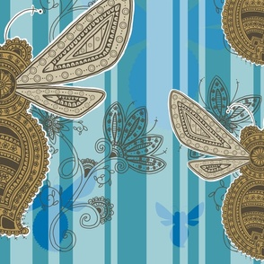 Fancy Bee Paisley
