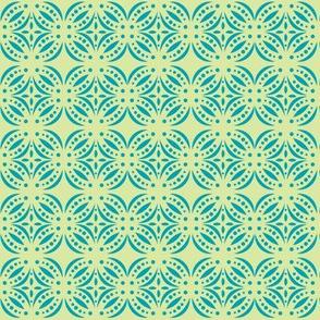 Moroccan Tile Green