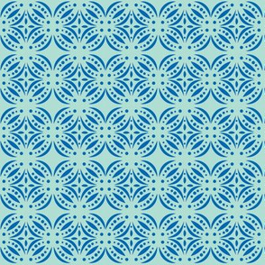 Moroccan Tile Blue