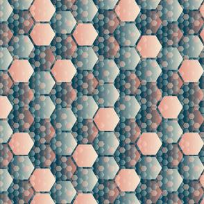 honeycomb shaded