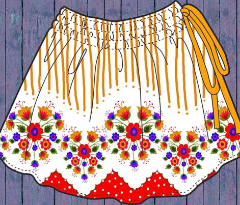 Scandinavian Skirt Red