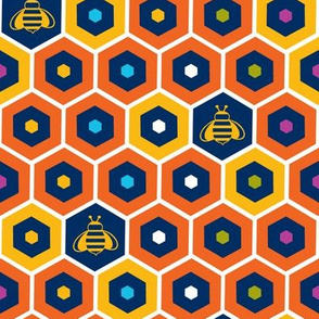 Colorful_honeycomb_bees