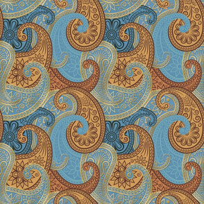 Paisley-Damask-RepeatingGold-3B