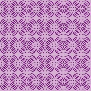 Moroccan Tile Purple