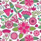 Pink Hidden Ladybugs