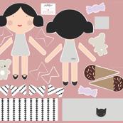 Rosie - Doll Fabric