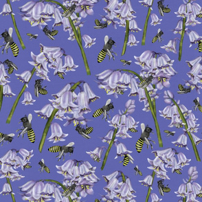Bluebells and Busy Bees