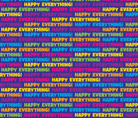 Happy Everything Blue