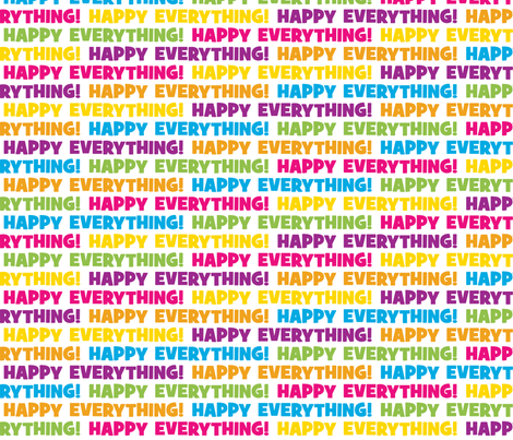 Happy Everything White