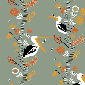 The beaks, the birch + the bees