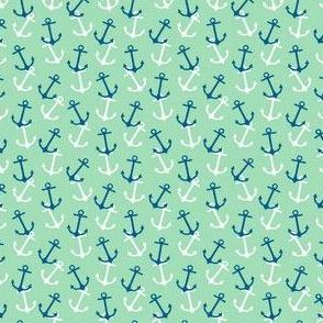 Anchors Away Teal