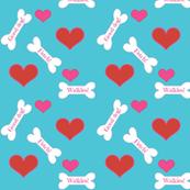 Good dog /hearts/ dog bones/ custom