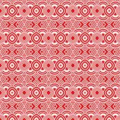 Valentines Maze Red White