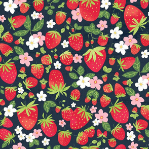 Strawberry Patch - Large