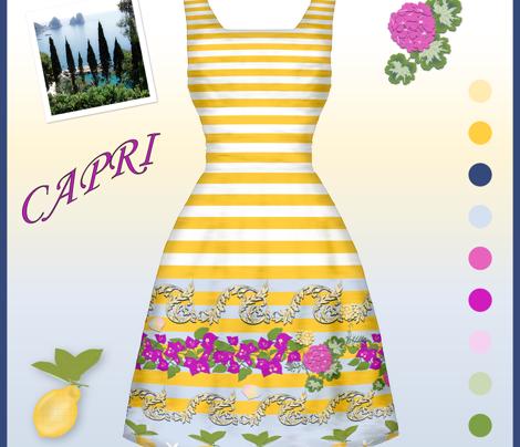 Capri Border Yellow