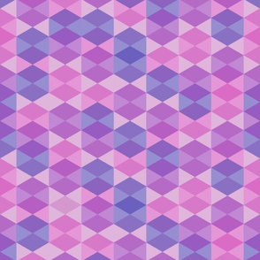 Hexagon in purple