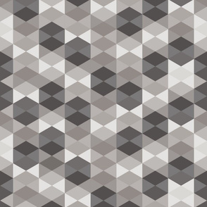 Hexagon in gray