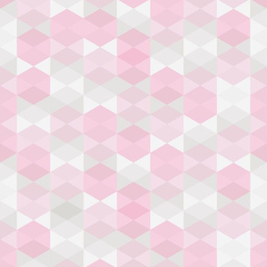 Hexagon in pink