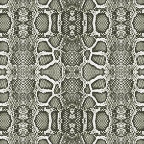 snake checkerboard-taupe