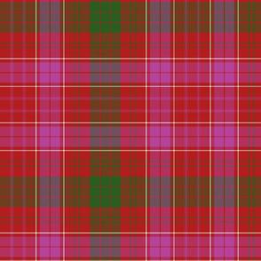 Ross clan tartan variant - modern colors