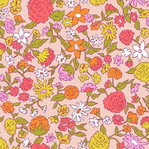 Summer Blooms | Peach