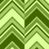 binary chevron - lime green