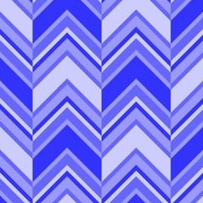 binary chevron - sapphire blue