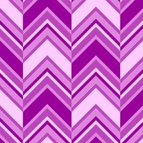 binary chevron - magenta purple