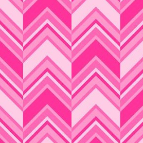 binary chevron - pink