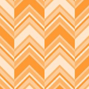 binary chevron - orange
