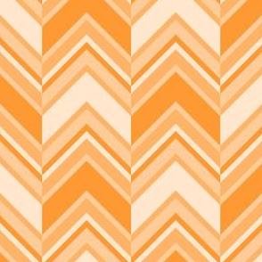 binary chevron - orange