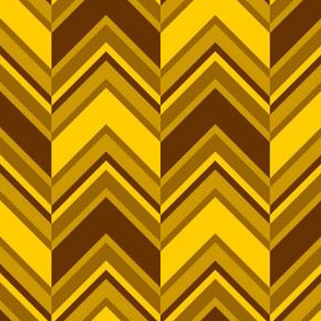 binary chevron - golden brown