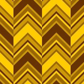 binary chevron - golden brown