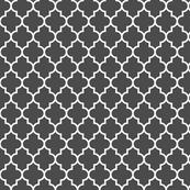 quatrefoil MED dark grey