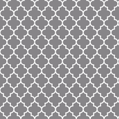 quatrefoil MED granite grey
