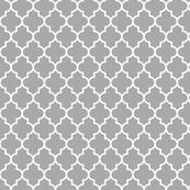 quatrefoil MED grey