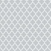 quatrefoil MED sterling grey