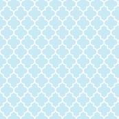 quatrefoil MED ice blue