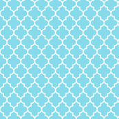 quatrefoil MED sky blue