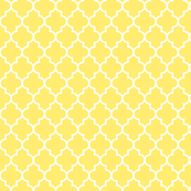 quatrefoil MED yellow