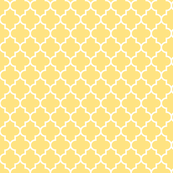 quatrefoil MED sunshine yellow