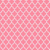quatrefoil MED pretty pink
