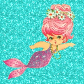 Sparkle Mermaid aqua