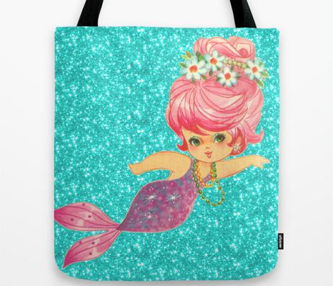 Sparkle Mermaid aqua