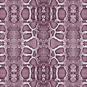 snake checkerboard-pink