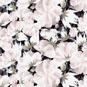 floral meadow subtle wedding hues