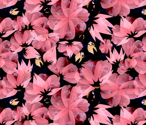 floral meadow dark