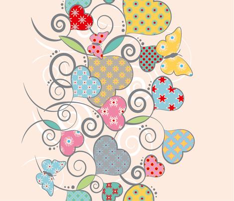 Hearts & Butterflies