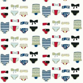 swimsuits - vintage