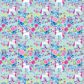 unicorn_multi_color_floral_print_blue